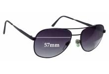 Soltec Aviator Replacement Sunglass Lenses - 57mm wide