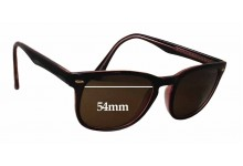 Spec Savers Sun Rx 51 Replacement Sunglass Lenses - 54mm wide
