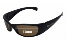 Spotters Artic Penetrator Replacement Sunglass Lenses - 61mm wide