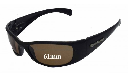 Sunglass Fix Replacement Lenses for Spotters Artic Penetrator - 61mm wide