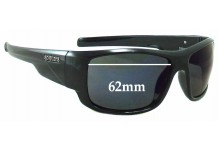 Spotters Droid Replacement Sunglass Lenses - 62mm wide
