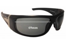 Sunglass Fix Replacement Lenses for Spotters Voltage 0209 - 69mm Wide