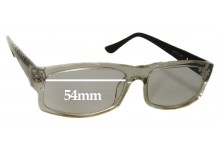 Spec Savers R29EG8014 Replacement Sunglass Lenses 54mm wide
