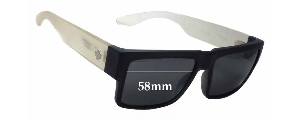 Spy Optics Cyrus Replacement Sunglass Lenses - 58mm wide
