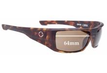 Spy Optics Dirk Replacement Sunglass Lenses - 64mm Wide