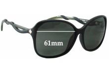 Spy Optics Fiona Replacement Sunglass Lenses - 61mm Wide