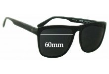 Spy Optics Neptune Replacement Sunglass Lenses - 60mm Wide
