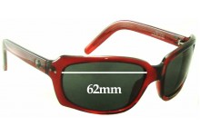 Spy Optics 43 Forty Three Replacement Sunglass Lenses - 62mm Wide