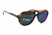 Stella McCartney SM4047 Replacement Sunglass Lenses - 57mm wide