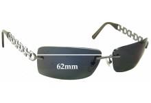 Salvatore Ferragamo 1045 Replacement Sunglass Lenses - 62mm Lenses