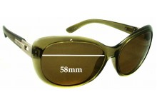 Smarty S11522 Replacement Sunglass Lenses - 58mm wide