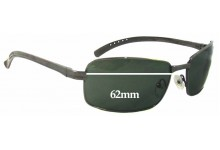 Spotters F11 Replacement Sunglass Lenses - 62mm wide