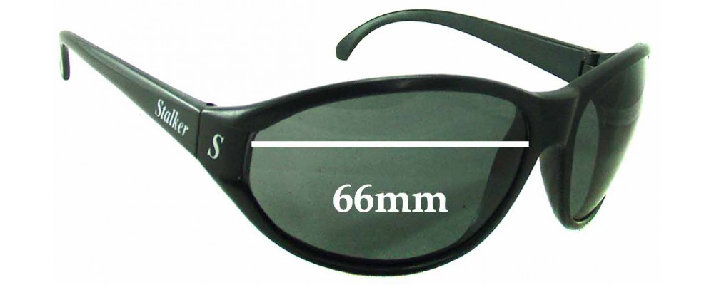 Stalker Unknown Replacement Sunglass Lenses - 66mm wide