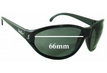 Sunglass Fix New Replacement Lenses for Stalker Unknown - 66mm Wide