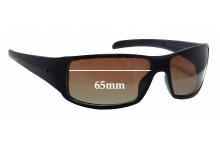 Tag Heuer TH9205 Racer 2 Replacement Sunglass Lenses - 65mm wide