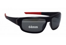 Tag Heuer Racer TH9221 Replacement Sunglass Lenses - 64mm wide