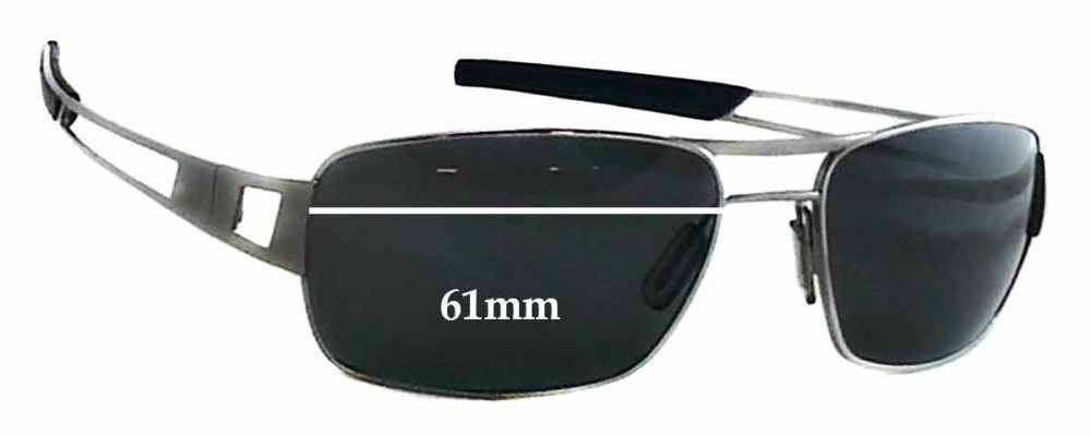 d5c9e5686f4 Tag Heuer Speedway TH0203 Replacement Sunglass Lenses - 61mm Wide
