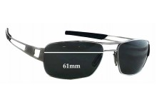 Tag Heuer Speedway TH0203 Replacement Sunglass Lenses - 61mm Wide