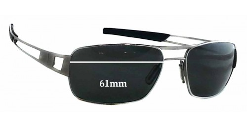 Tag Heuer Eyeglasses Frame Replacement Parts : Tag Heuer Speedway TH0203 Replacement Sunglass Lenses ...