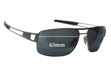 Tag Heuer Speedway TH0202 Replacement Sunglass Lenses - 63mm wide