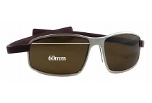 Tag Heuer TH 5016 Replacement Sunglass Lenses - 60mm Wide