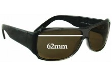 Thakoon TK500 Replacement Sunglass Lenses - 62mm wide
