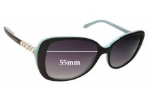 Tiffany & Co TF4121-B Replacement Sunglass Lenses - 55mm Wide