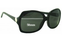Tiffany & Co TF4041 Replacement Sunglass Lenses - 58mm Wide