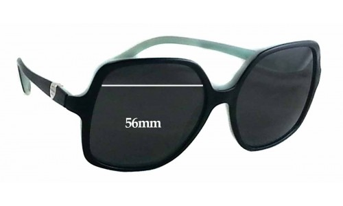 Tiffany & Co TF4050 Replacement Sunglass Lenses - 56mm wide