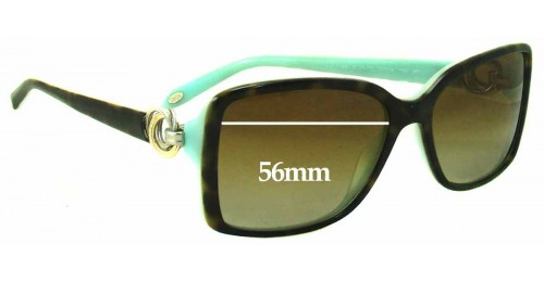 Tiffany & Co TF4066 Replacement Sunglass Lenses - 56mm Wide