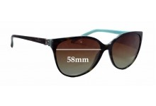 Tiffany & Co TF4089-B Replacement Sunglass Lenses - 58mm wide