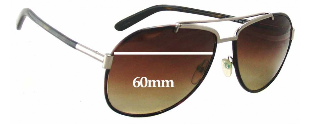cf28fc1886 Tom Ford Miguel TF148 Replacement Lenses - 60mm Wide