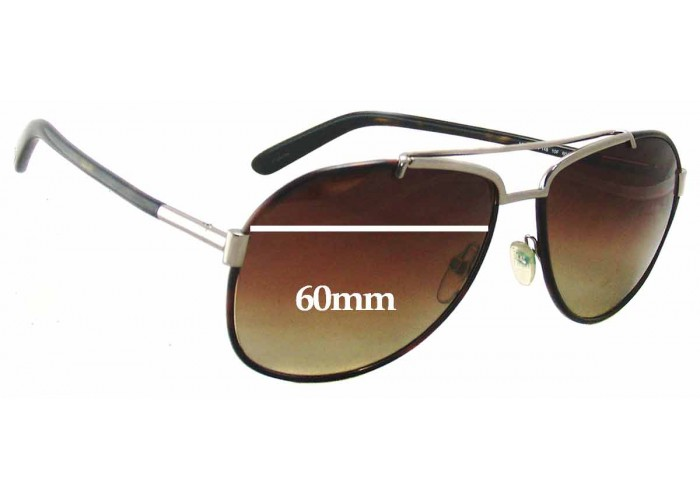 SFX Replacement Sunglass Lenses fits Tom Ford Nicola TF229 60mm Wide