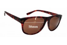 Tom Ford Olivier TF 236 Replacement Sunglass Lenses - 58mm wide