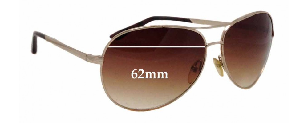 91a85ce98fe ... Tom Ford Charles TF35 Replacement Lenses 62mm wide Sunglass Fix