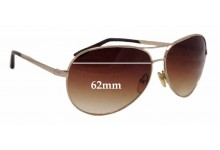 Tom Ford Charles TF35 Replacement Sunglass Lenses - 62mm wide