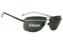 Tommy Hilfiger TH DM67 Replacement Sunglass Lenses - 63mm wide