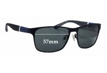 Tommy Hilfiger TH Sun RX 25 Replacement Sunglass Lenses - 57mm wide