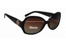 Sunglass Fix New Replacement Lenses for Tory Burch TY7019 - 58mm Wide