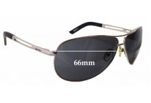 Ugly Fish Blizzard 20099ss Replacement Sunglass Lenses - 66mm wide