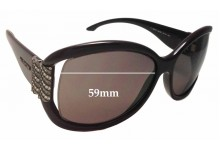 Valentino 5691/S Replacement Sunglass Lenses - 59mm Wide