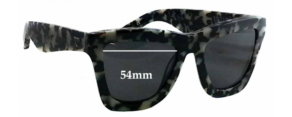 Valley DB Replacement Sunglass Lenses - 54mm Wide x 45mm tall
