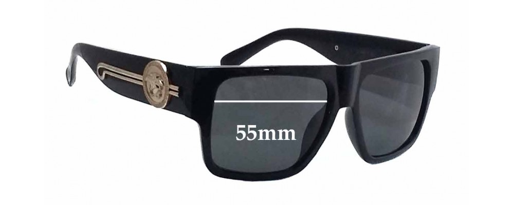 1d49a607be3 Versace Mod 4368 S Replacement Lenses - 55mm wide