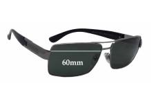 Versace MOD 2041 Replacement Sunglass Lenses - 60mm wide