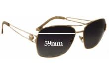 Versace MOD 2138 Replacement Sunglass Lenses - 59mm Wide