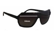 Versace MOD 4197 New Sunglass Lenses - 64mm Wide