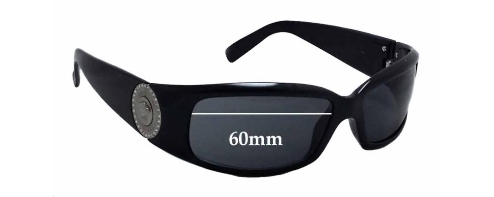 3d0de87f70d Versace VE 4044B Replacement Lenses - 60mm wide