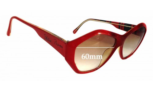 Vienna Line 1463 Replacement Sunglass Lenses - 60mm wide