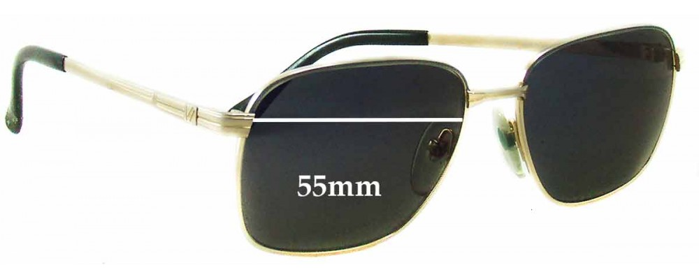 Vienna Line 1710 Replacement Sunglass Lenses - 55mm wide