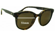 Vogue VO2730-S Replacement Sunglass Lenses - 51mm wide